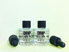 Opi Lot Of 2 Drip Dry Lacquer Drying Drops - Size 0.3 fl oz/9 ml each New No Box