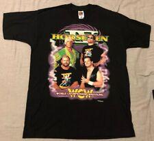 WCW Four Horsemen XL Shirt - Flair Arn Benoit Mongo - Rare - Nitro WWE NWA