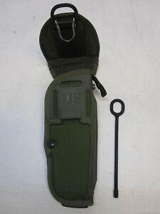 NEW M12 GUN HOLSTER MILITARY M-12 AMBEDEXTROUS OD GREEN M9 9MM COLT 45 BERETTA