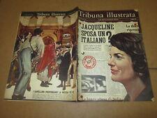 TRIBUNA ILLUSTRATA N°19/1966 JACQUELINE KENNEDY LAURENCE OLIVER P.FAIRHURST
