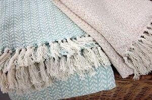 Wing Design Fairtrade Throw 100% FairTrade Cotton