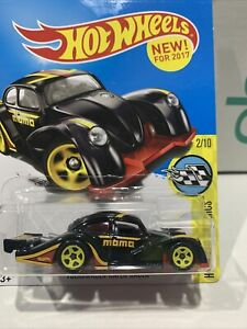 Hot Wheels VOLKSWAGEN KAFER RACER BLACK 46/250 Hw Speed Graphics Long Card !!!!!