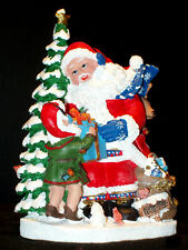 THE INTERNATIONAL SANTA CLAUS COLLECTION SC77 SANTA CLAUS NORTH POLE