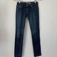 Kenji Women's Straight Leg Dark Wash Jeans Size 8