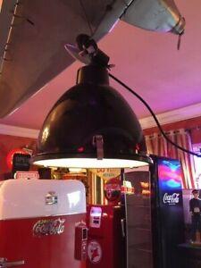 Pendelleuchte Anteros schwarz Industrielampe Hängelampe Loft 38cm