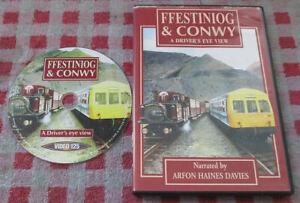 Ffestiniog & Conwy - A Driver's Eye View - UK PAL all regions DVD - Video 125