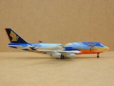 "Singapore Airlines B747-400 (9V-SPK), ""Tropical Livery"", Dragon Wing, 1:400 RARE"