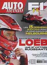AUTO HEBDO n°1588 du 14 Mars 2007 SAFARI RALLY WRC MEXIQUE