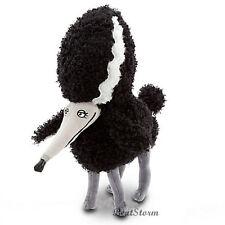 "12"" NEW DISNEY STORE TIM BURTON FRANKENWEENIE PERSEPHONE Poodle Plush Dog animal"