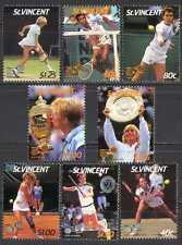 St Vincent 1987 Tennis/Sport/People/Wimbledon 8v n27152