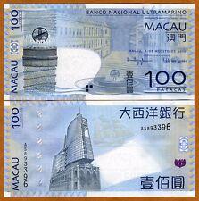Macao / Macau 100 Patacas, 2010, P-82 (82b), BNU, UNC