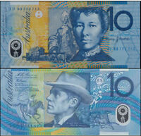 Australia Mint 1993 First Dobell $10 Fraser & Evans Polymer Banknote Issue r316a