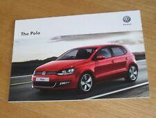Volkswagen VW Polo Brochure 2013 Match Edition R-Line SEL GTI 1.4 1.2 1.6 TDI