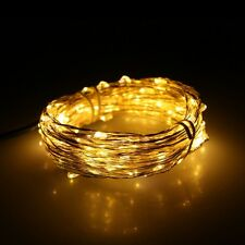12M x 100 LED USB Outdoor Led Copper Wire String Fairy Christmas Wedding Lights