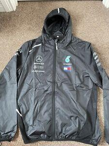 *NEW* F1 AMG Mercedes Petronas Jacket Tommy Hilfiger Light Quick Dry - Large