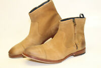 J.Shoes Mens Boots NWD Defect$198 Navarra S9501 Chukka Ankle Boots BROKEN ZIPPER