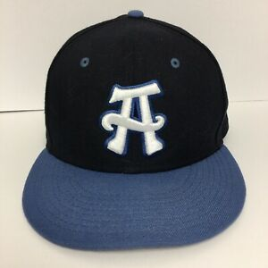 New Era Asheville Tourists Navy/Blue Alternate 2 Authentic 59FIFTY Fitted Hat