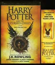 J.K. Rowling  - Harry Potter and the Cursed Child; 1st/1st + Bookmark
