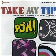 Take My Tip: 25 Sixties Mod Gems by Various Artists (CD 2007, EMI) MADE IN EU