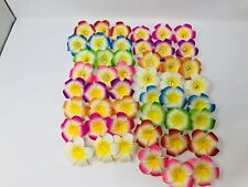 48 PCS Hawaiian Plumeria Flower Foam Hair Clip New Fashion Hair Accessory