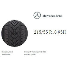 Winterreifen Dunlop SP Winter Sport 4D MOE 215/55 R18 95H Q440451210050 SALE