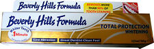 BEVERLY HILLS FORMULA WHITENING TOOTHPASTE - WHITER TEETH IN 1 MINUTE - NEW