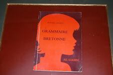 ROPARZ HEMON: Grammaire BRETONNE.  1984