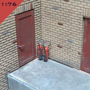 5x 3D printed CO2 FIRE EXTINGUISHER 4kg 1:76 OO Model Diorama Scenery Miniature