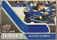 2020-21 Upper Deck UD Game Jersey GJ-BS Brayden Schenn