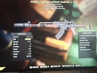Assassin's Suppressed Automatic Handmade Explosive Fallout 76 Ps4