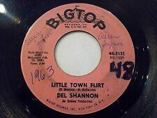 Del Shannon Little Town Flirt / The Wamboo 45 1963 Big Top Vinyl Record