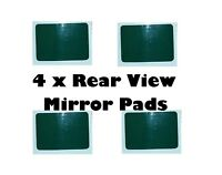 4 x SUMMIT REAR VIEW MIRROR / DASH CAM WINDSCREEN STICKY ADHESIVE PADS