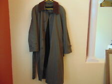 Men's Jos. A. Bank Lt Birch Brown w/Leather Trench Coat w/Removable Liner-40Reg.