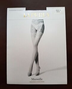New La Perla Stockings Marveille Suspender Stockings Size S