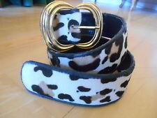 Leopard Belt Large Gold Buckle size S