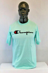 Champion Life S/S CHAMPION CLASSIC SCRIPT T-SHIRT GREEN/BLACK/RED GT19-Y079544SI