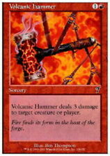 French Volcanic Hammer - Foil ~ Moderately Played 7th Edition Seventh Foreign Ul