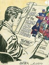 The Art of the Simon and Kirby Studio (2014, Hardcover)