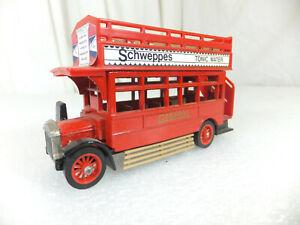 R121 - MATCHBOX - 1922 AEC Open Top Bus  OO Gauge vehicle in good condition