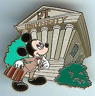Disney Pin 64860 Mickey PTU Preproduction & Artist Proof  AP PP LE Only 3 made !