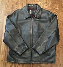 Eddie Bauer Stine Leather Jacket Womens Small Great Condition