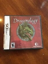 Dragonology (Nintendo DS, 2009) Gamestop Exclusive Rare Case and Game Only