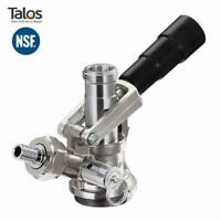 Talos Beer Keg Coupler D System Stainless Steel Probe American Sankey