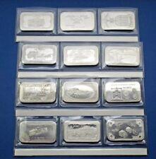 1973 Mother Lode Mint Silver Art Bar Set  - Match for Brass bar set