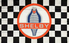 Ford Racing Shelby Cobra SVT Special Vehicle Team Performance Flag 3x5 ft Banner