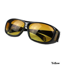 Optic Night Vision Driving Anti Glare HD Glasses UV Wind Protection Eyeglasses Yellow