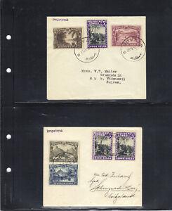 Belgisch Belgian Congo Belge Group of 12 interesting letters; 6 scans