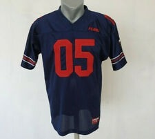 Fubu Sport Jersey 05 Navy Blue Football Size L Vintage Shirt Embroidered Active
