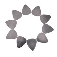 10x bass guitar picks stainless steel acoustic electric guitar plectrum 0.30mmTO