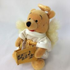 Pooh Disney Store Bean Bag Choir Angel Exclusive With Tags 8.5 inches 2000